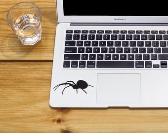 Black Widow spider sticker spider decal spider sticker Car Laptop Vinyl Decal Sticker