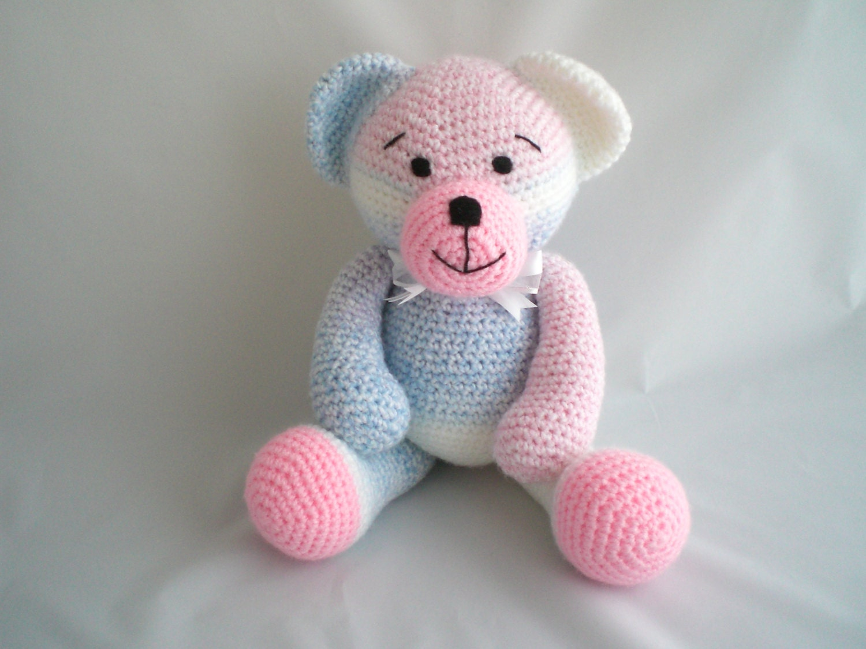 Amigurumi Teddy Bears : Crochet Teddy Bear / Amigurumi Teddy Bear / Giant sized Teddy