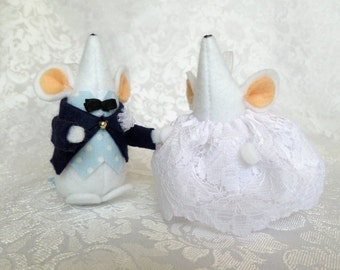 Wedding Mouse Couple