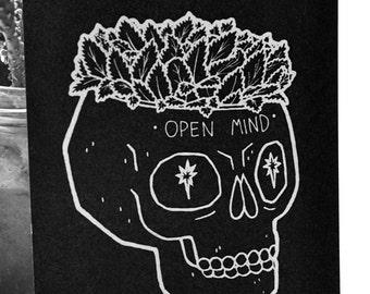 Open Mind Skull - PRINT