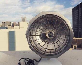 Vintage Superior Electric Heater, Vintage Heater, Round Heater, Space Heater, Heat Lamp