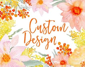 Custom Design Listing:  Planner Covers