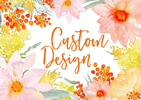 Custom Design Listing:  Planner Covers