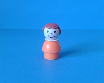 "Fisher Price Little People "" #2550 School Girl "" 1970's"