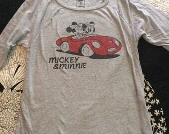 Vintage Mickey & Minnie Cruzin T Shirt