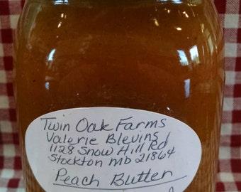 Fresh Peach Butter
