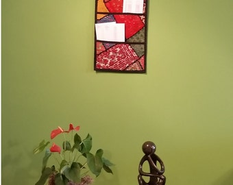 Decorative Wall Hanging with Three Pockets