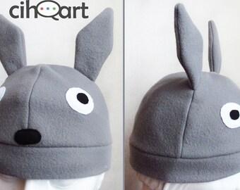 Totoro fleece hat