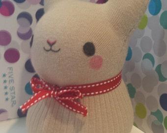 Custom Handmade Stuffed Bunny - OOAK - Made To Order