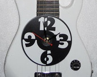 Vintage Kids Electric Guitar Wall Clock