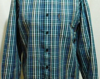 Blue Checked Ben Sherman