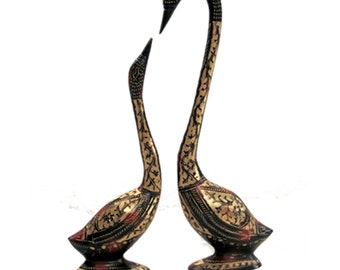 Brass Metal Swans (come in pairs)