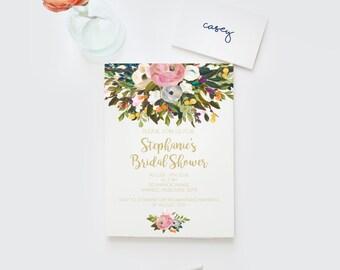 Bridal shower invitations, Hens invitation Bachelorette invitation bachelorette invitations, Bridal shower invite, bridal shower invitations