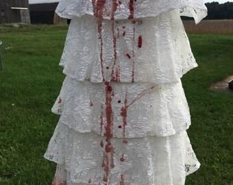 Zombie costume, zombie party dress. vampire costume, walking dead, zombie dress, zombie costume, zombie, halloween costume, Halloween costum