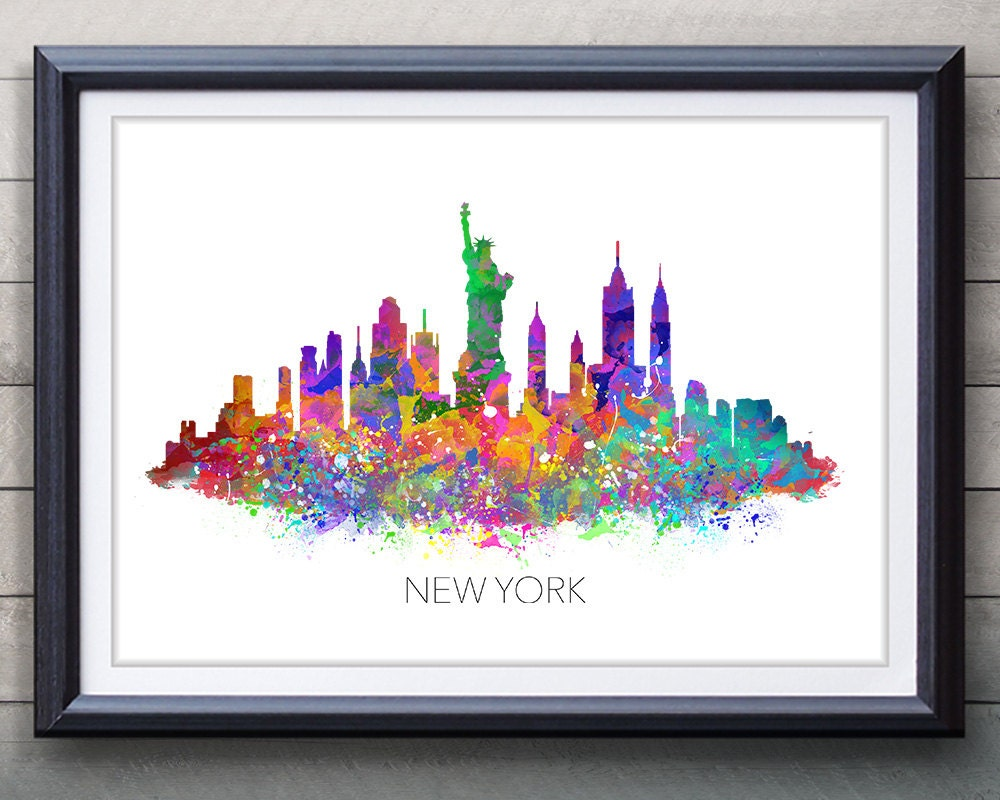 New York Map Etsy - Nyc map to print