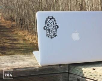 Hamsa - Laptop Decal - Laptop Sticker - Car Decal - Car Sticker