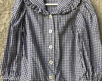 Childs Gingham top