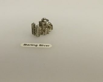 Sterling Silver Westminster Abbey Charm