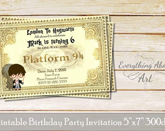 Harry potter party invitations gangcraft harry potter invitation etsy party invitations filmwisefo Gallery