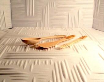 Wooden spoon, Wooden fork, Kitchenware, Wooden kitchen set, Kitchen spatula, Utensils for cooking, For cooking, Stirring food, kitchen tools