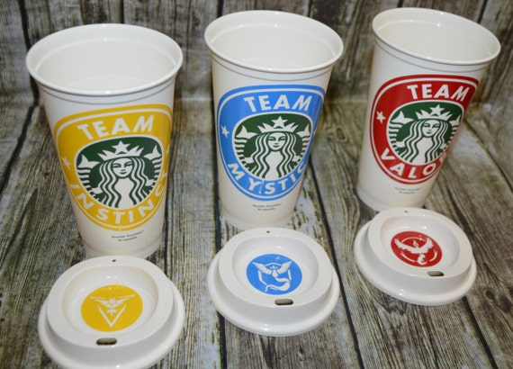 Pokemon Go Inspired Starbucks Tumblers