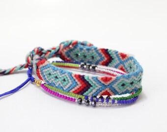 BUY any 2 get 1 FREE!! Friendship Bracelet, String Bracelet, Woven Bracelet, Wrap Bracelet, Layer Bracelet, Boho Bracelet Friendship Jewelry