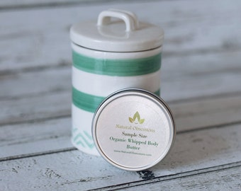 Sample size body butter - Whipped body butter