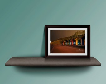 life is a beach standard sizes and panoramic long exposure photography print