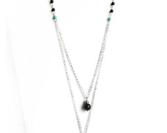 SOLTAN double layer necklace