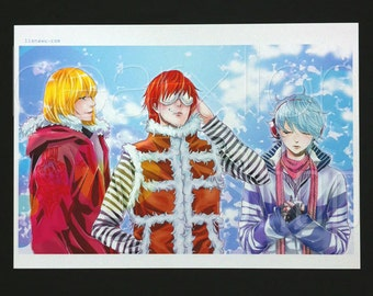 Death Note Wammy Boys Anime Manga Premium A5/A4 Print