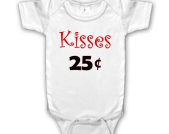 Kisses 25 Cents bodysuit