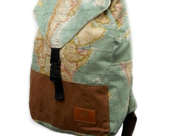 Worldmap Backpack