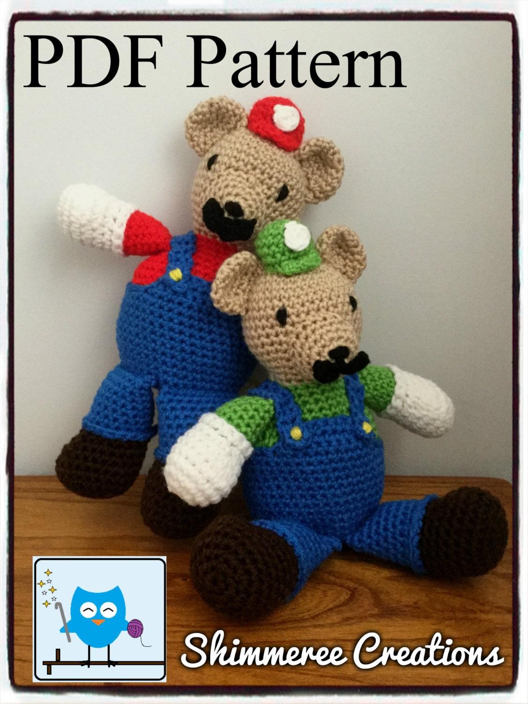 Amigurumi Super Mario Pattern : PDF Pattern for Crochet Amigurumi
