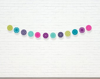 Jewel Garland  - Party Garland - Gem Party Decor