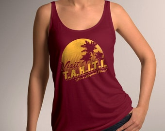 "Agents of SHIELD ""Visit TAHITI"" Women's Tank Top"