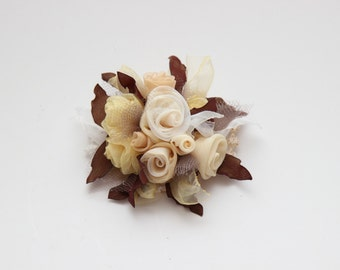 Vintage Floral Brooch - Chanel Brooch - Brooch Pin - Flower Brooch - Clothing Accessories - Jewelry - Gift idea