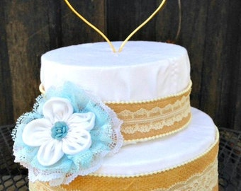 Heart Wire Cake Topper, Wedding Cake Topper, Cake toppers, Custom Cake topper, Rustic Cake topper,  Wedding Cake, Custom Topper, Love Topper