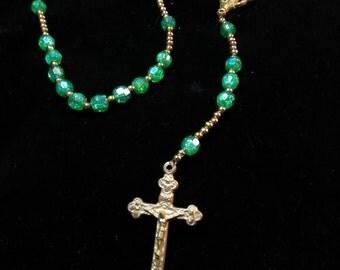 NEW acrylic rosary