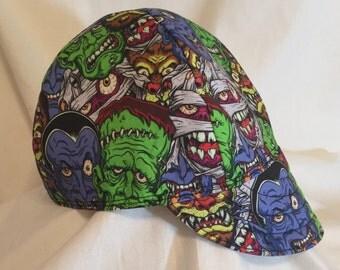 Classic Monsters Welding Cap/Fitters Cap