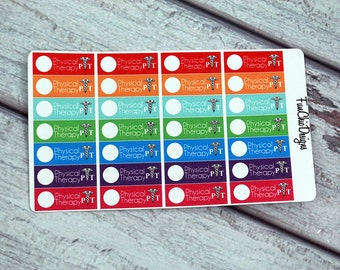 Physical Therapy Planner Stickers
