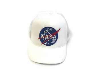 FREE Shipping - Youth NASA Patched Foam Mesh Cap