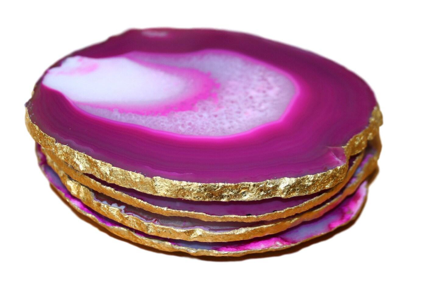 Agate Coasters Agate Drink Coasters Agate Stone Coasters