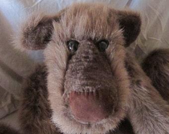 Ozzie, the big, brown bear