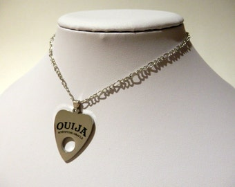 Ouija Board Pendant Necklace Mystifying Oracle Occult Wicca Spirit Paranormal