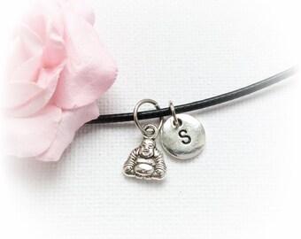 Buddha Necklace, buddha Jewellery, buddha Gift, buddha Charm Jewelry, Personalised jewelry, initial necklace, handmade necklace, SPLCINBUD1