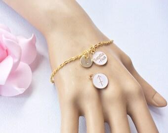Sagittarius Zodiac Sign Astrology Bracelet,Sagittarius  bracelet,star sign bracelet,November and December birthday/ GFZSSNSAGB1