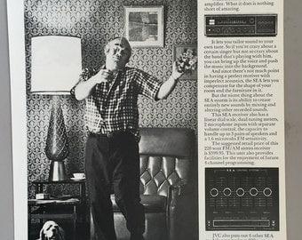 1971 JVC Print Ad SEA Stereo System