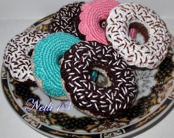 Crochet sweets - Donuts