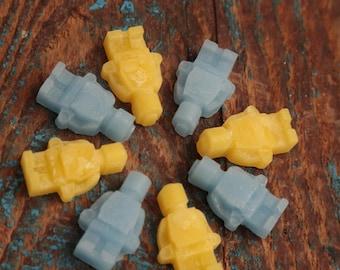 robo-men soy Wax Melts, Pack of 15