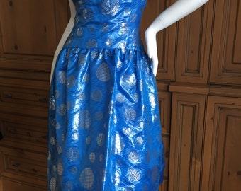 Arnold Scaasi Sweet Sixties Cocktail Dress